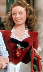 """""""State Fair"""" velvet cherry dress and matching purse. This is one of my FAVORITE movies of all time."""