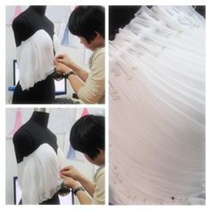 Tutorial Chiffon Strapless Escote Corazon