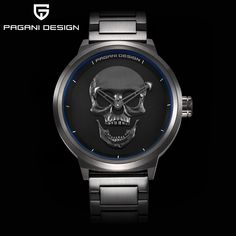 Pagani Design 3D Skull Men Watch     Tag a friend who would love this!     FREE Shipping Worldwide     Get it here ---> https://www.shopyzona.com/pagani-design-3d-skull-men-watch/