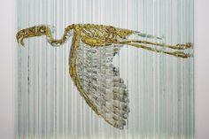 ALLPE Medio Ambiente Blog Medioambiente.org : Una escultura de cristal con animales ocultos