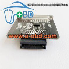 BMW EVO Headunit programming adapter VVDI PROG sockets