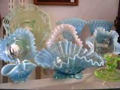 Fenton Art Glass Company | Vintage Art Glass, Depression Glass & Collectible Glass | Just Glass ...