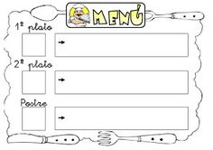 Recursos Infantiles: Rutinas Master Chef, Teaching Spanish, School Days, Classroom, Kids Restaurants, Kids Menu, School Routines, Spanish Worksheets, Writing Exercises