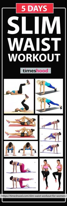 5 Days Slim Waist Workout | Posted By: NewHowToLoseBellyFat.com