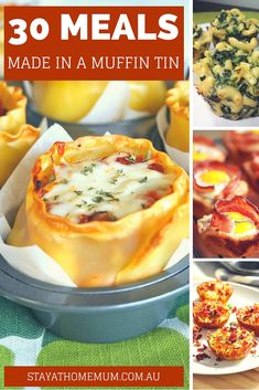 30 Meals Made in a Muffin Tin | Stay At Home Mum More