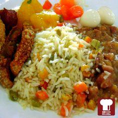 Comida Brasileira do Restaurante Simplismente