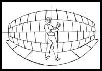 5 Point Perspective : Curvilinear Perspective