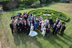 Wedding photos of Hall Place in Kent