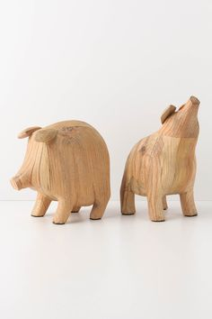 my piggy bookends by roost now available at...anthropologie?