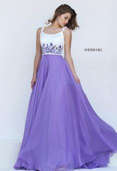 Bateau Neckline with Spagetti Bandage Prom Dress sherri hill 50410