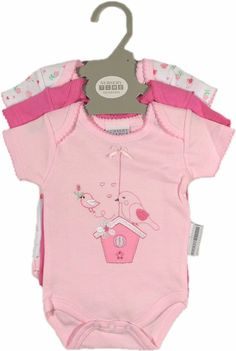 983f267a2 Nursery Time Girls Short Sleeve Cotton Baby Grows Newborn - 18 Months  #nurserytime #giftset #babygrows #babyclothes #newbornclothes #newborn ...