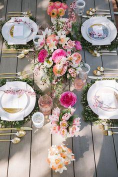 179 best table setting ideas images flower plates lunch table rh pinterest com