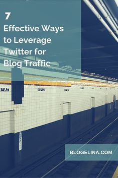 For bloggers who are just starting out (and even for some experienced ones), Twitter may seem intimidating. The whole aspect of getting your voice heard on a super-noisy platform can look daunting or downright scary. But it doesn't have to be that way. 7 Effective Ways to Leverage Twitter for Blog Traffic | Blogelina