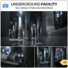 Photobash - Underground Facility