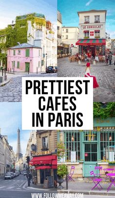 10 Of The Prettiest Cafes In Paris + Map To Find Them - Paris is always a good idea - Consejos para Viajes Paris Travel Guide, Europe Travel Tips, Places To Travel, Travel Destinations, Places To Visit, Travel Things, Travel Packing, European Travel, Asia Travel