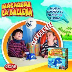 Juguete MACARENA LA BALLENA de Bizak Precio 26,97€ en IguMagazine #juguetesbaratos