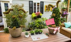 Home & Family - #Easter Bunny Topiary With Shirley Bovshow | Hallmark Channel