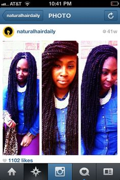and another twists look. Summer Hairstyles, Pretty Hairstyles, Black Hairstyles, Protective Hairstyles, Protective Styles, Twist Box Braids, Hair Laid, Hair Shows, Hair Health