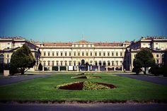 front of royal villa