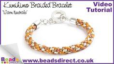 Kumihimo How To | Make a Kumihimo Braided Bracelet | Jewellery Making Br...