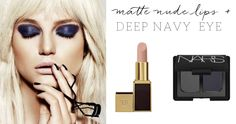 Tom Ford 'Nude Vanille' Lipstick, NARS 'Mandchourie' Eyeshadow