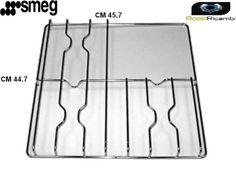 SMEG-WHITE-WESTINGHOUSE-GRIGLIA-ACCIAIO-3-FUOCHI-PIASTRA-CM-45-7-X-44-7-F5322