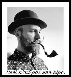 Pipe and beard