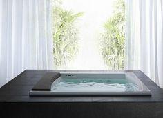 Modern-design of #Teuco Seaside #bathtub