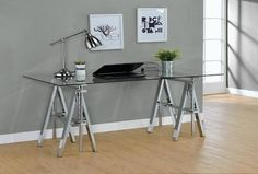 Work from a sitting or standing position with the Coaster Furniture Adjustable Writing Desk . This modern desk features an architectural design with. Home Office Furniture, Furniture Deals, Fine Furniture, Baby Furniture, Furniture Stores, Furniture Mattress, Furniture Buyers, Wholesale Furniture, Steel Furniture