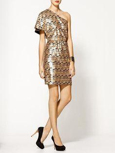 pixel sequin dress by Trina Turk