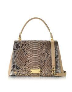 Ghibli greige handbag