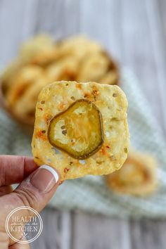 The 2 Week Diet, lose at leasst 6 pounds, Low-Carb 2 Ingredient Crispy Jalapeño Cheese Crackers Keto Foods, Keto Snacks, Ketogenic Recipes, Low Carb Recipes, Healthy Snacks, Snack Recipes, Cooking Recipes, Party Snacks, Pescatarian Recipes