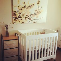 Small Cribs for Small Spaces | Pinterest | Small nurseries, Mini ...