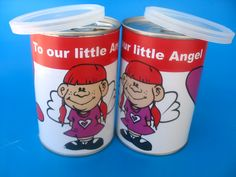 Personalised tin cans are useful and pretty. From small business owners to industry Giants, companies in South Africa simply love our personalised tin cans! Tin Cans, Africa, Branding, Brand Management, Brand Identity, Tins, Afro