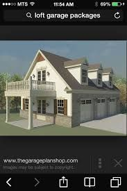 Garage plans with lofts and loft garage designs typically feature storage for one to three cars with loft storage above. View this collection of garage designs with loft storage. 3 Car Garage Plans, Garage Plans With Loft, Loft Plan, Garage Apartment Plans, Garage Apartments, Garage Ideas, Garage With Living Quarters, Garage To Living Space, Garage Guest House