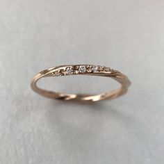 Wedding Band Women, Unique Diamond Eternity Curved Wedding Band, Diamond Ring, Dainty White Gold Stackable Ring, Delicate Stacking Ring - 2020 Fashions Womens and Man's Trends 2020 Jewelry trends Curved Wedding Band, Diamond Wedding Rings, Diamond Bands, Diamond Engagement Rings, Simple Wedding Bands, Morganite Engagement, Wedding Band Ring, Stoneless Engagement Ring, Tungsten Wedding Bands