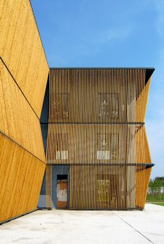 The Green Pine Garden: Designer: Scenic Architecture Office Location: Qingpu, Shanghai Area: sqm Project Year: 2010 Installation Architecture, Architecture Images, Architecture Office, Contemporary Architecture, Amazing Architecture, Architecture Details, Landscape Architecture, Architecture Panel, Chinese Architecture