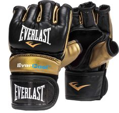 Century Gold Label MMA Mixed Martial Arts Leather Fight Gloves New Size XXL