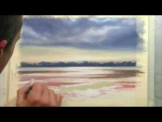 ▶ Simon Kenevan - A Pastel Study for the painting 'After a Storm' - YouTube