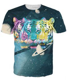 Trippy Triple Tiger T-Shirt *Ready to Ship*