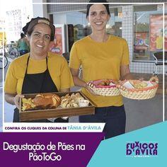 No dia 09 de Abril a PãoToGo padaria drive-thru realizou uma deliciosa degustação de pães e bolos para clientes que passaram pela PãoToGo no ultimo sábado. Acompanhe os Clicks da coluna Fuxicos Davila na Revista DÁvila. http://ift.tt/1UOAUiP (link na bio).