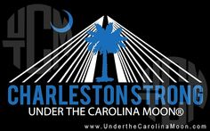 CharlestonStrong Decal  Proceeds go to Lowcountry Ministries-The Reverend Pinckney Fund.  #lowcountry #charlestonstrong