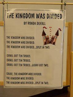 Divided Kingdom Song. Hands On Bible Teacher