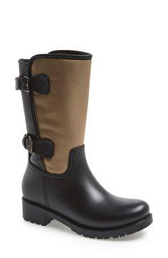 f317d507758 däv Mid Buckle Waterproof Rain Boot (Women)