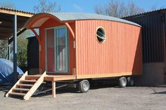 Barrel Top Wagons in southern England might be building some of the most beautiful and practical mobile wagons around. | Tiny Homes