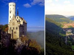 Overlooking the Echaz Valley and the storybook village below, often shrouded in fog Lichtenstein Castle comes close to being the perfect castle in Europe.