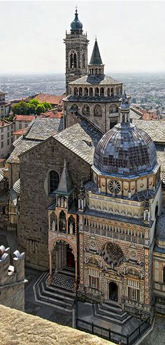 Bergamo, Italy--ITALIA by Francesco -Welcome and enjoy- frbrun Places Around The World, Oh The Places You'll Go, Places To Travel, Places To Visit, Around The Worlds, Italy Vacation, Italy Travel, Italy Trip, Wonderful Places