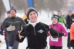 Polar Dash in Minneapolis/St. Paul and Chicago are fun wintry races.  (Balmy predictions for the Chicago Race 2013!)
