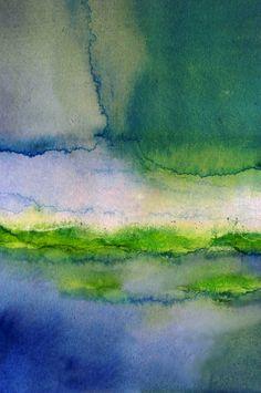Saatchi Online Artist: Maria Mann; Watercolor, Painting LAGOON