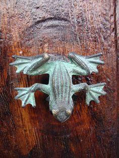 frog door knocker